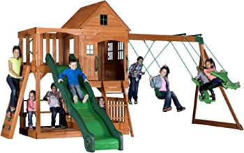 Backyard Discovery Pacific View All-Cedar Swing Set