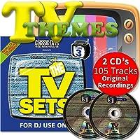 Classic Cuts Presents TV Sets Vol 5 & 6 Double CD - 70s 80s & 90s Themes & Ad's