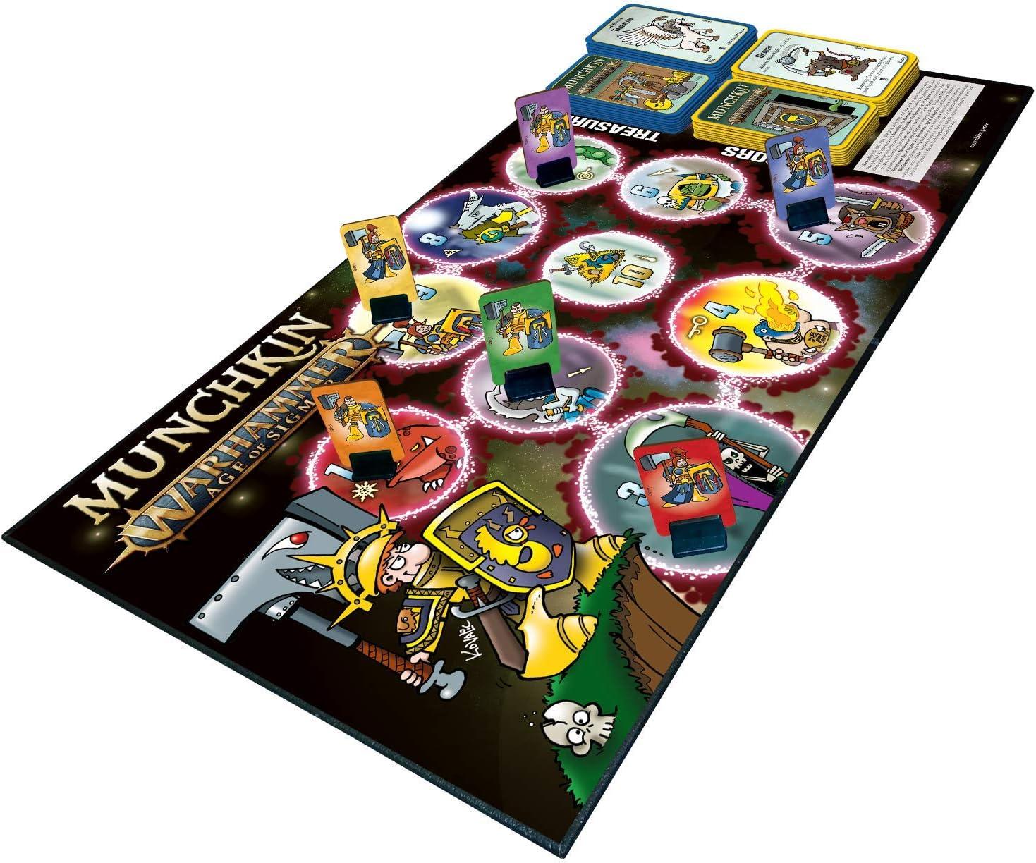 Steve Jackson Games Munchkin - Warhammer Age of Sigmar: Amazon.es: Juguetes y juegos