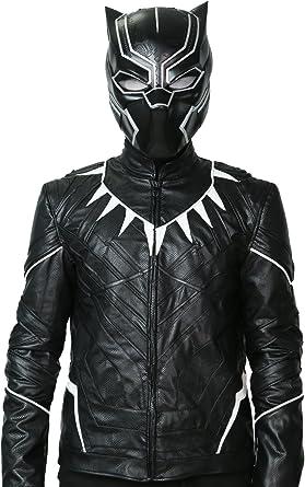 Xcoser Black Panther Chaqueta Disfraz Para Hombre De Halloween ...