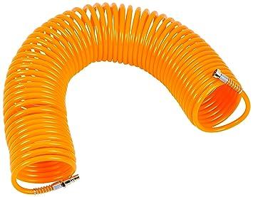 Maurer 17010235 Manguera espiral aire comprimido, 15 metros: Amazon.es: Bricolaje y herramientas