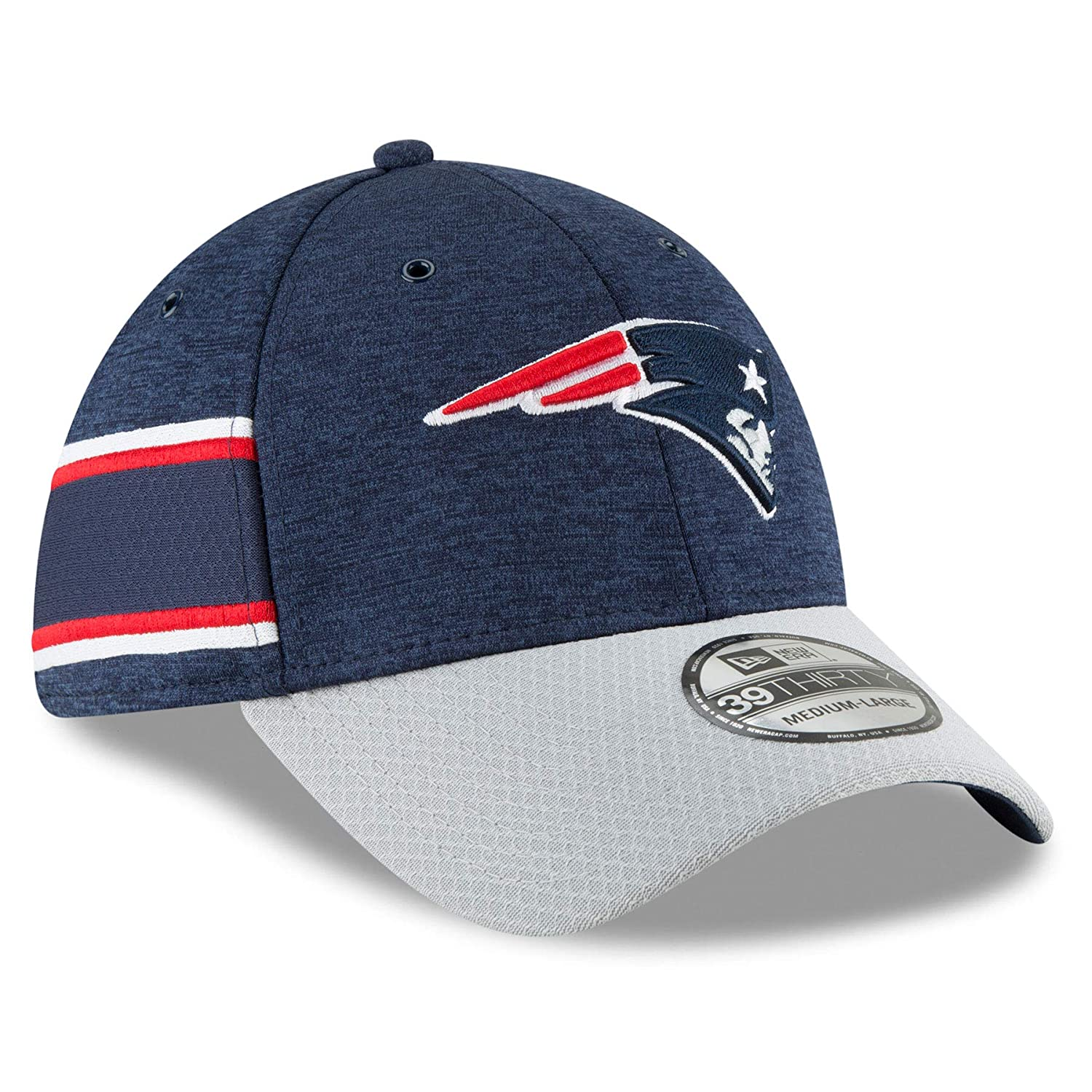 4673f7f89336b ... inexpensive amazon new era 2018 39thirty nfl new england patriots  sideline home hat cap 11763369 clothing