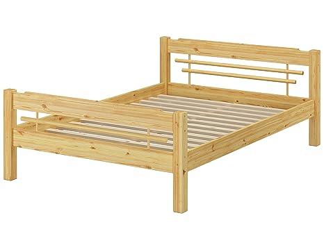 Möbel Betten Massivholz Bett 140x200 Mit Rollrost Betten