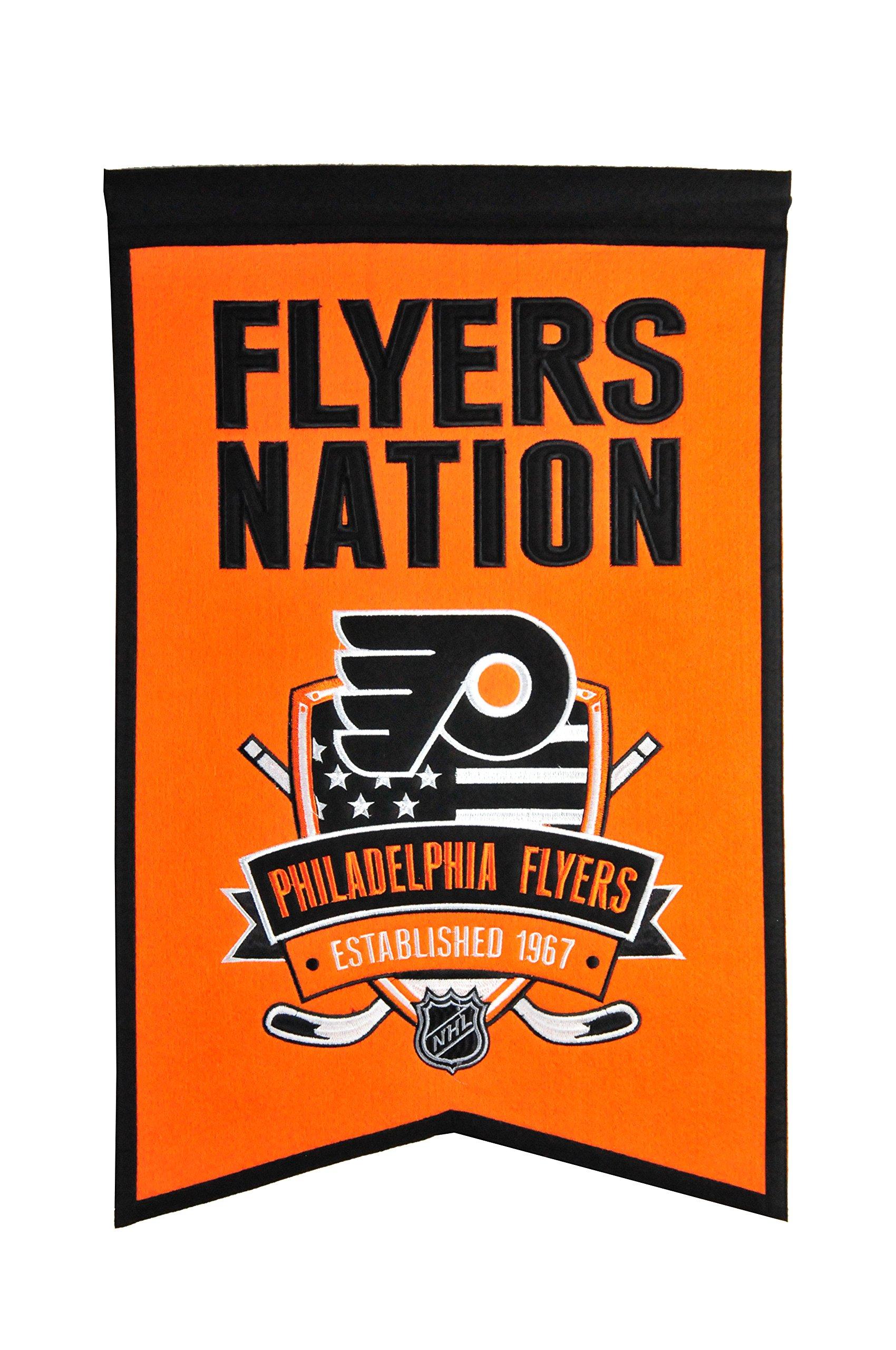 Winning Streak NHL Philadelphia Flyers Nations Banner by Winning Streak