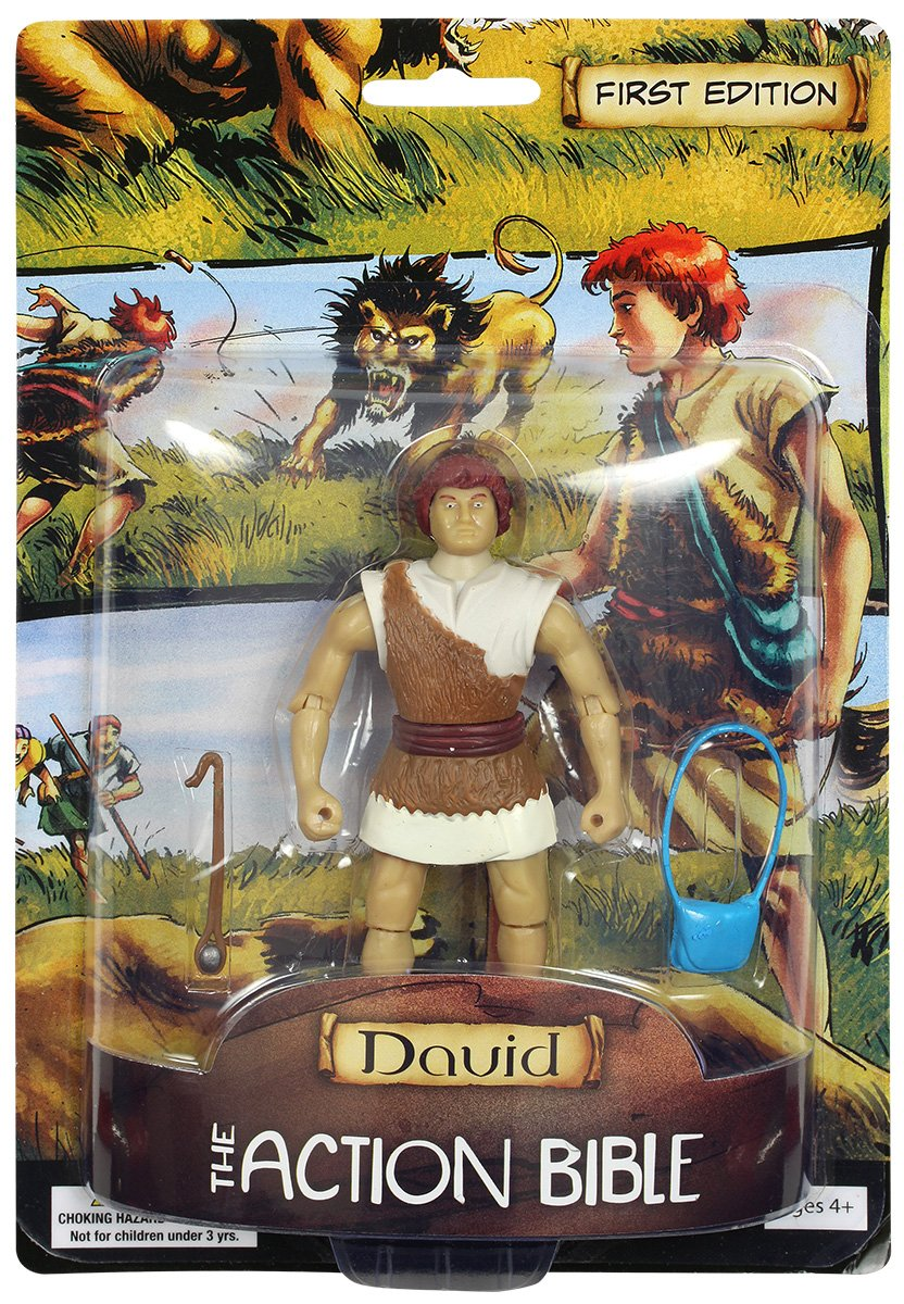 Toy  Action Figure  Action Bible David