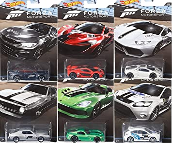 Hot Wheels Lamborghini 8 Fahrzeuge im Set Sonderedition 2017 Fahrzeuge im Ma/ßstab 1 64