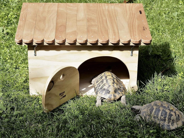 Blitzen novedades, Casa de Tortugas de tierra con fondo Deluxe