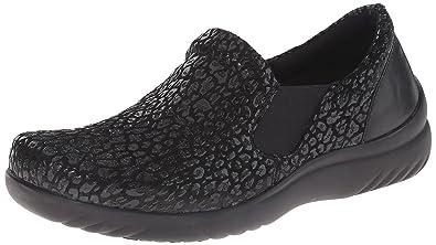 Klogs USA Women's Geneva Slip-On Loafer, Black Print, ...