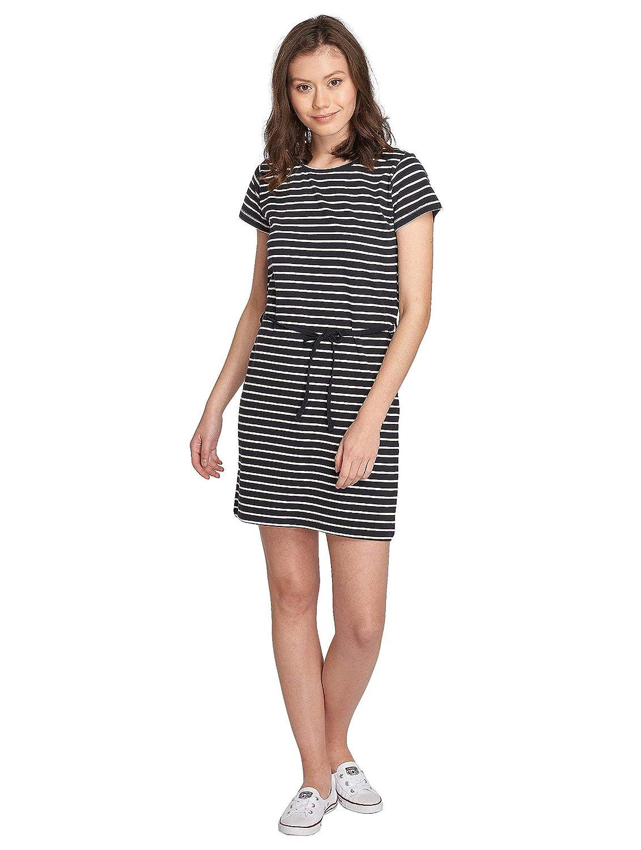 JACQUELINE de YONG Gestreiftes Jerseykleid Beachwear Sommerkleid 15149456