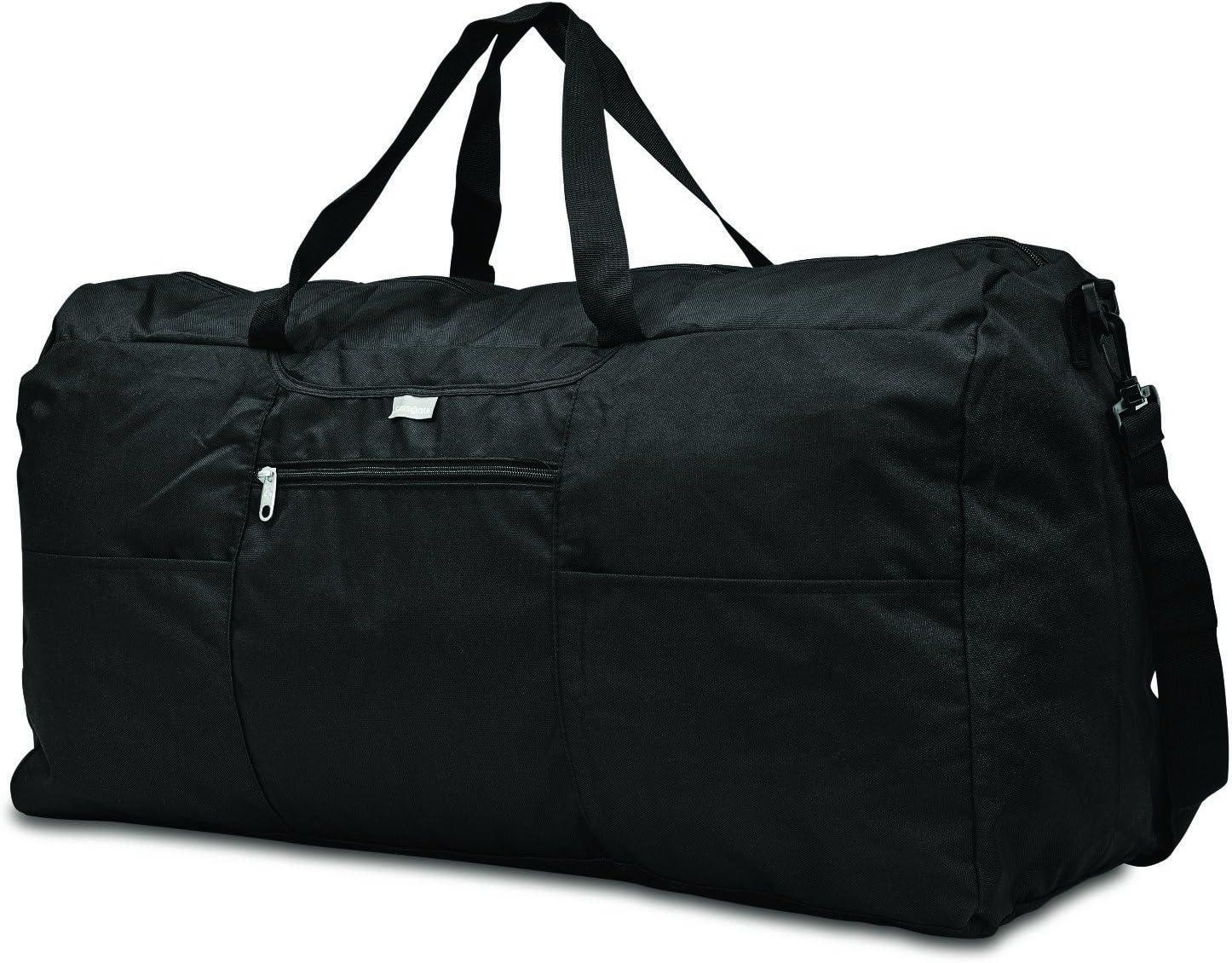 Samsonite Foldaway Duffle Extra Large Duffel Bag, Black, One Size