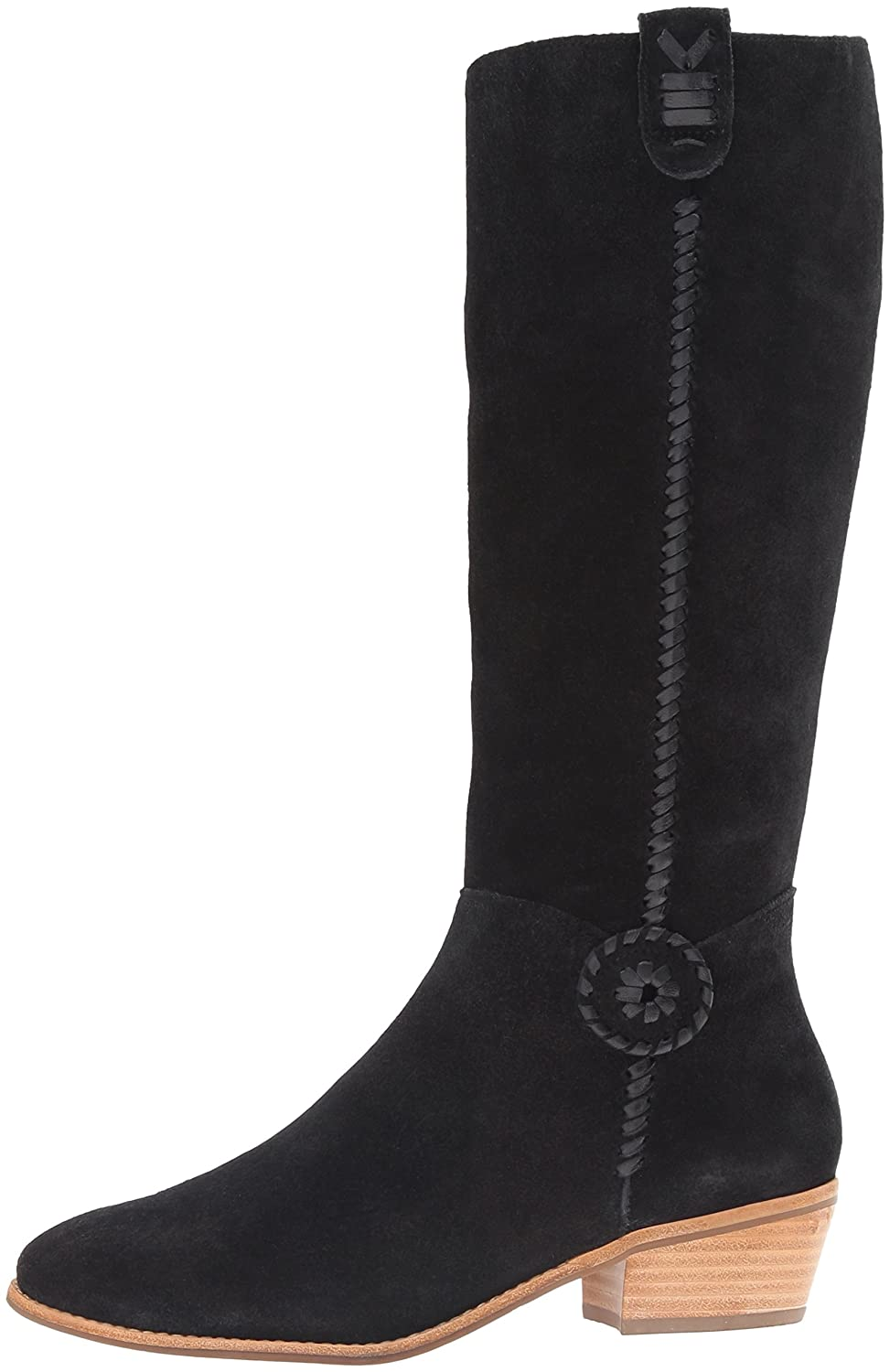 Jack Rogers Women's Sawyer Rain US|Black Boot B01DCSHPH2 9 M US|Black Rain Suede 647115