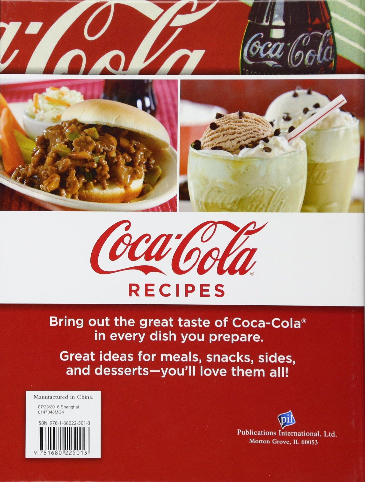 Coca cola recipes editors of publications international ltd coca cola recipes editors of publications international ltd 9781680225013 amazon books forumfinder Choice Image