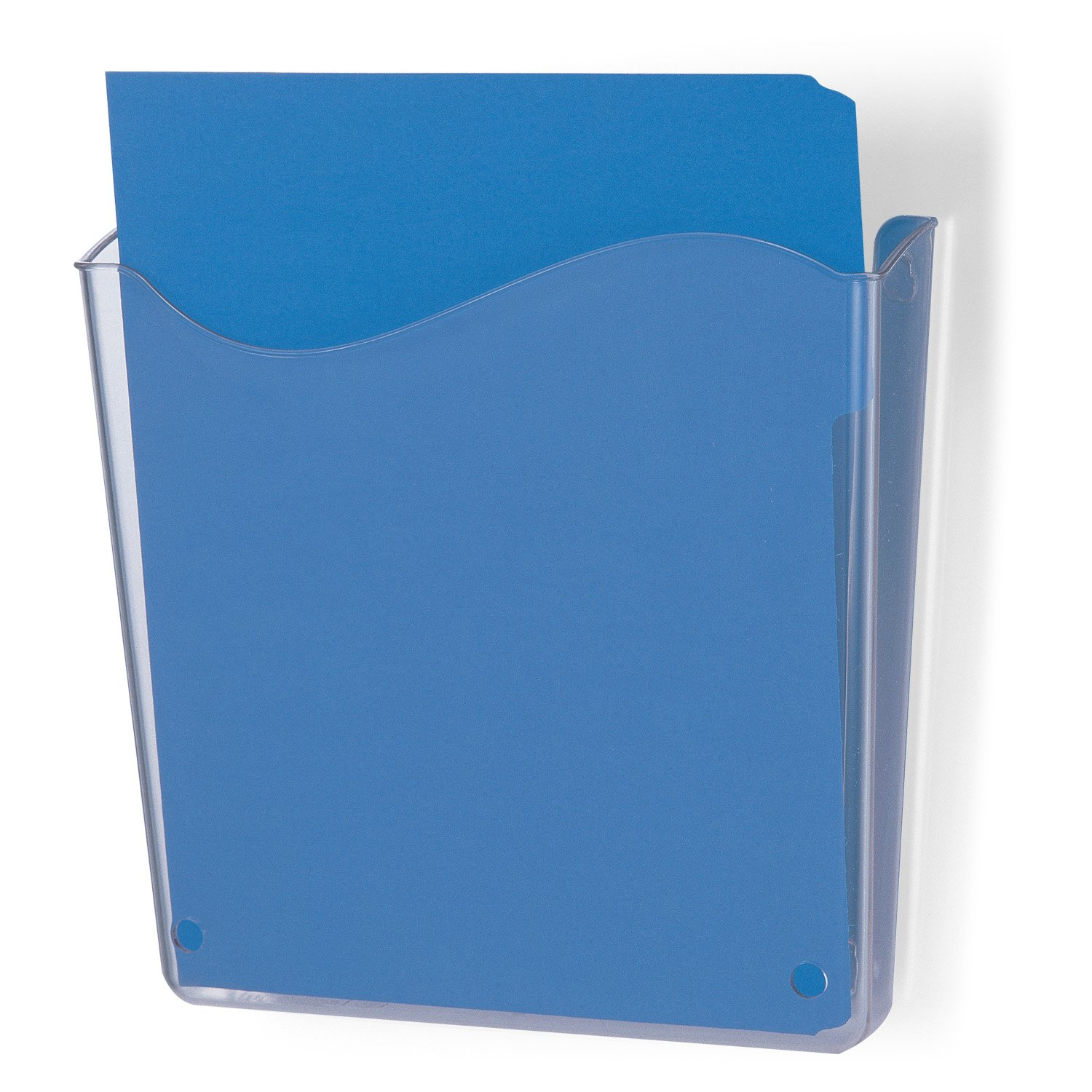 Officemate Unbreakable Wall File, Vertical, Clear (21674)