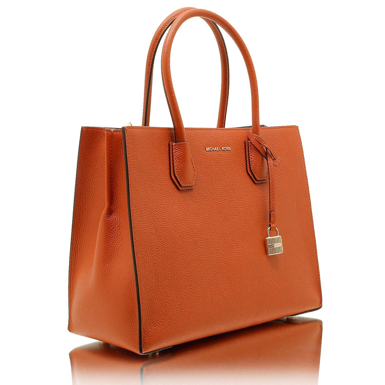 Michael Kors Mercer Tasche One Size Orange: