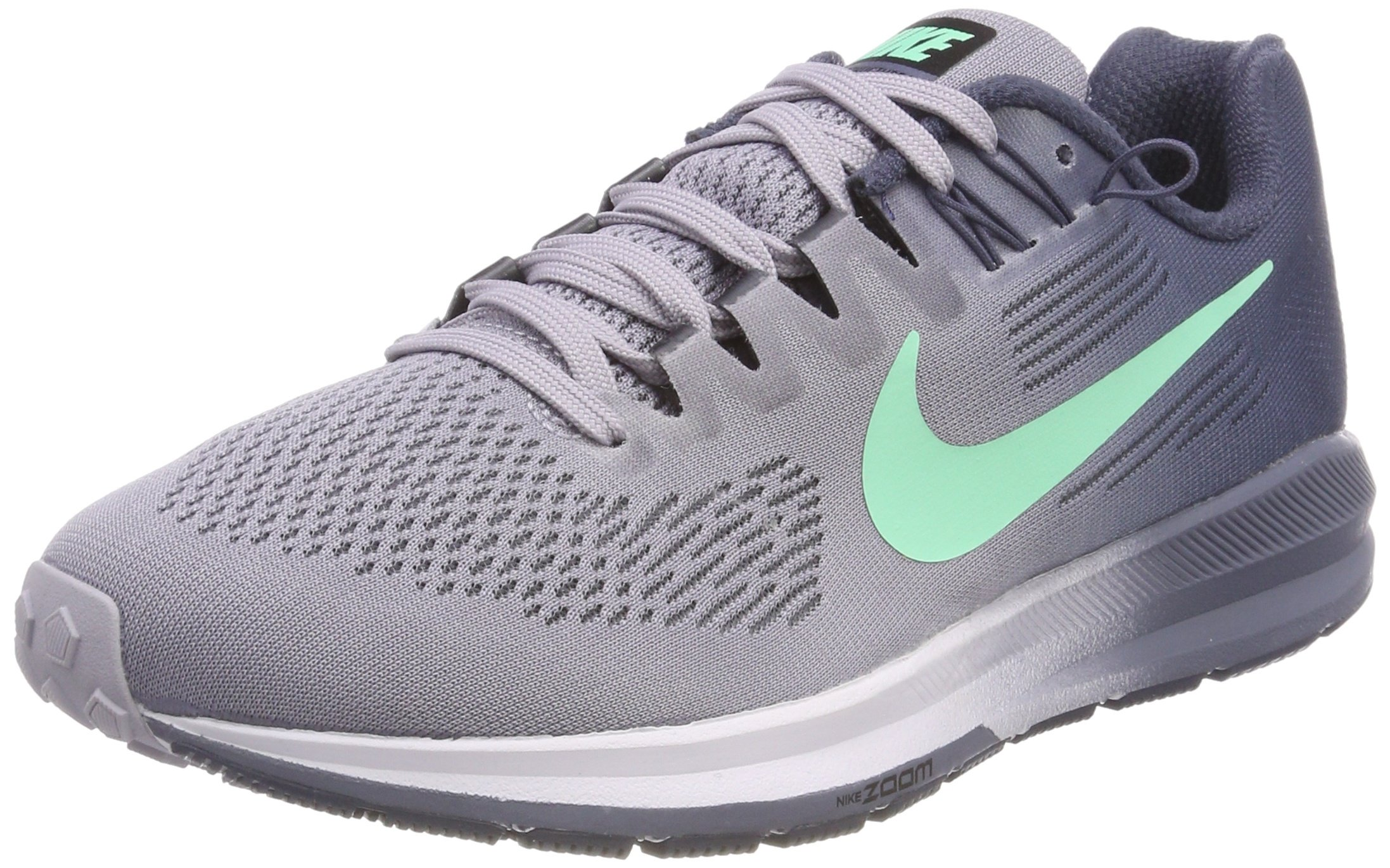 promo code d54ce 76c70 Galleon - NIKE Women s Air Zoom Structure 21 Running Shoe Provence  Purple Green Glow-Thunder Blue 9.0