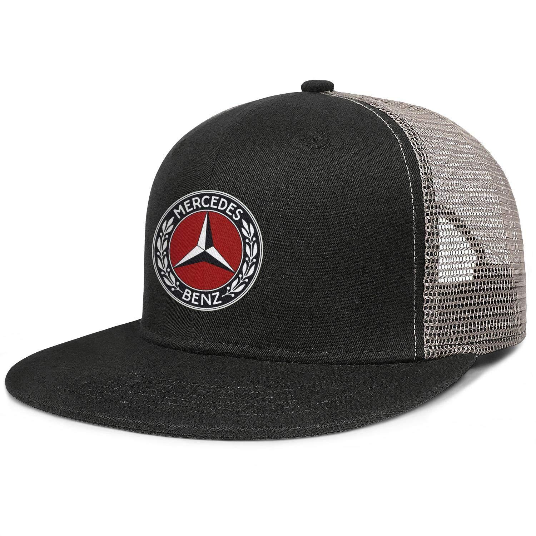Mercedes Benz Logo Womens Mens Travel Ball Caps Mesh Cap Dad Hats Sun Hat