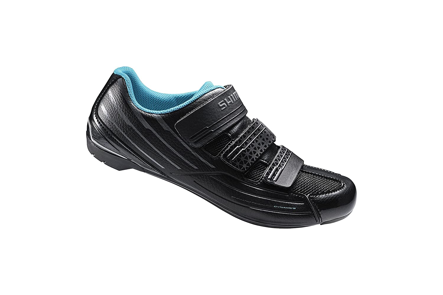 Shimano Women's SH-RP2W Road Shoes B00ZUYFRNG 44|Black/Blue