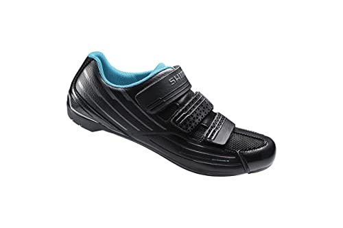 the latest f76aa 1c642 Shimano SH-RP2 Women s Touring Road Cycling Synthetic Leather Shoes, Black,  ...