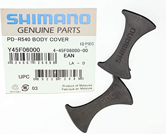 PD-6610 Plastic Insert Road Bike *Pair* Shimano SPD-SL Pedal Body Cover PD-R540