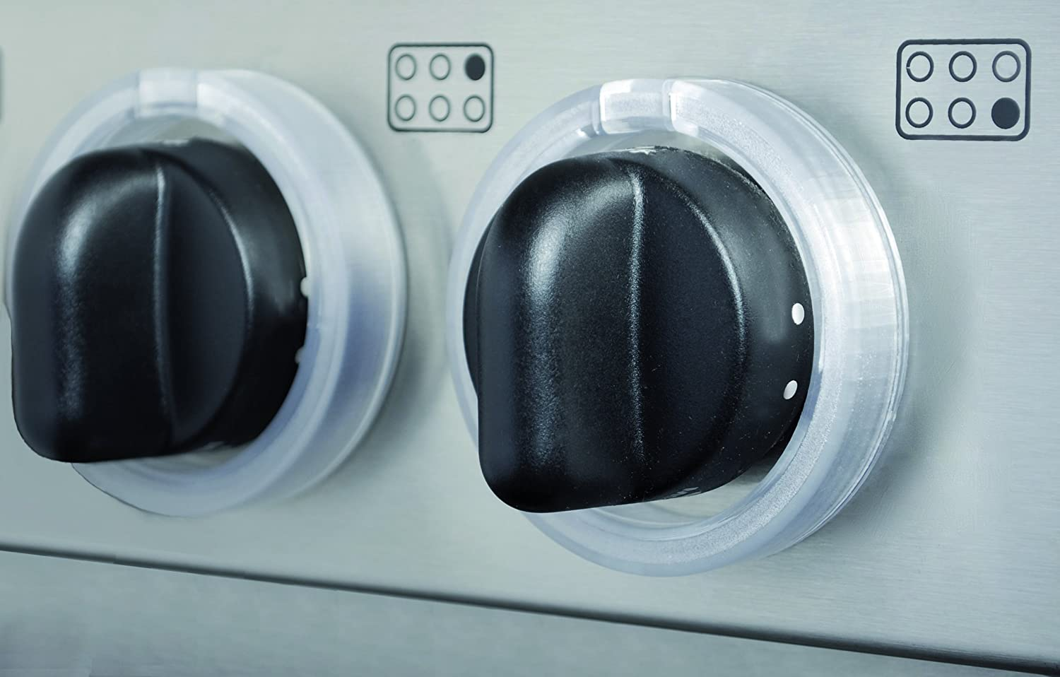 Superbe Amazon.com : KidKusion Stove Lock, Clear, 5 Count : Gas Stove Knob Safety :  Baby
