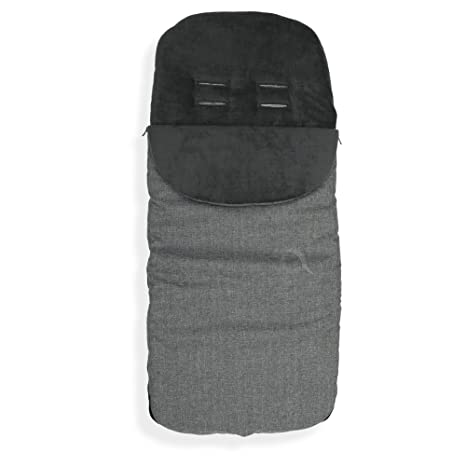 Cosy Toes Compatible with Maclaren Quest Sport Pushchair Dolphin Grey Footmuff