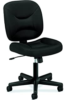 Beau HON ValuTask Low Back Task Chair   Mesh Computer Chair For Office Desk,  Black (