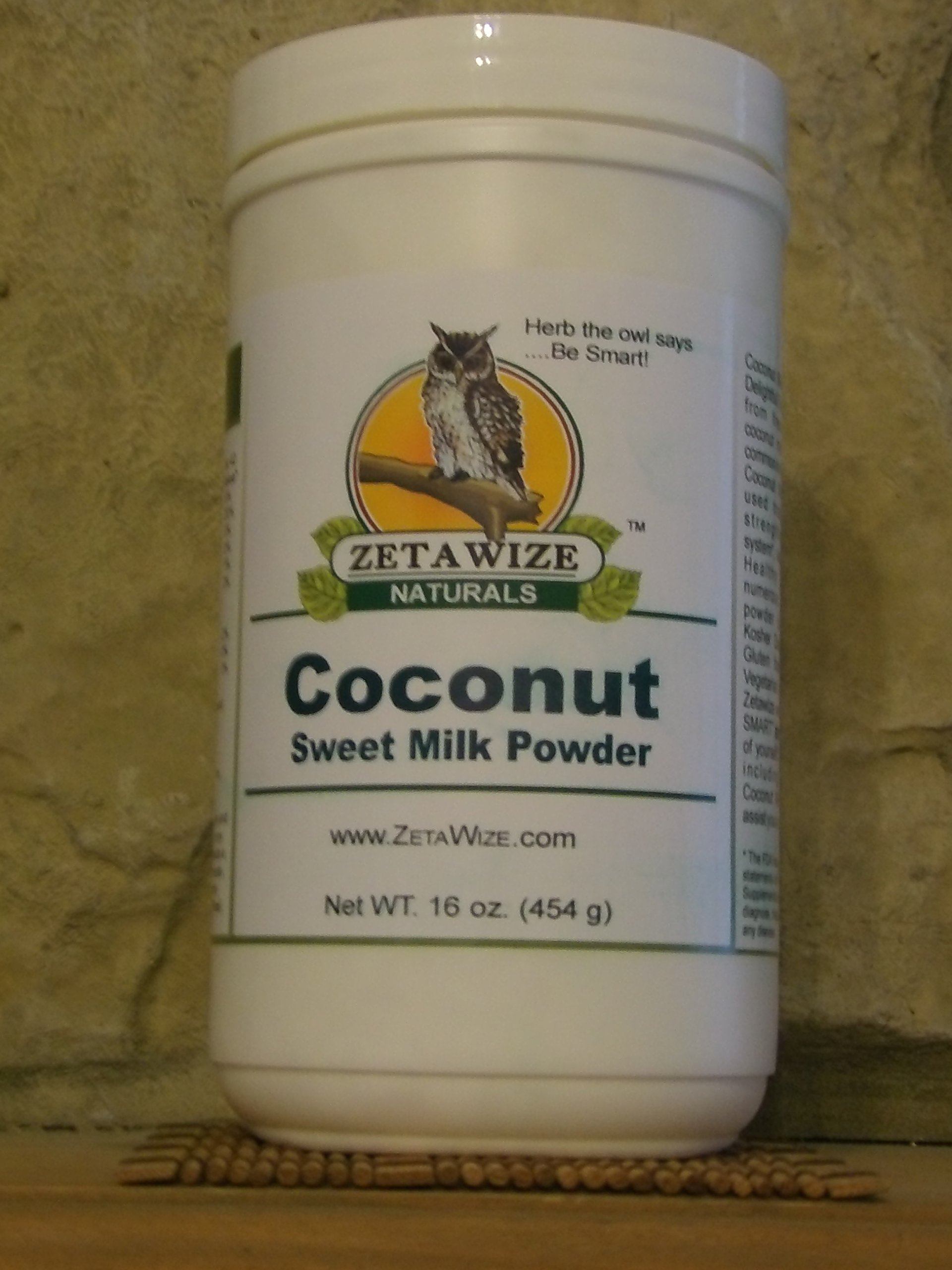 Coconut Sweet Milk Powder *Delicious * Supplement or Healthy Recipe Enhancer * Kosher * Gluten Free * Lacto - Vegetarian Grade * Super-Food * 1 LB Size by Better Living Products a ZetaWize LLC Company