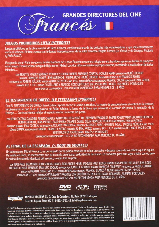 Amazon.com: Grandes Directores Del Cine Francés (Import Movie) (European Format - Zone 2) [2012]: Movies & TV