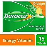 Berocca Energy Vitamin, Orange - 15 Effervescent Tablets