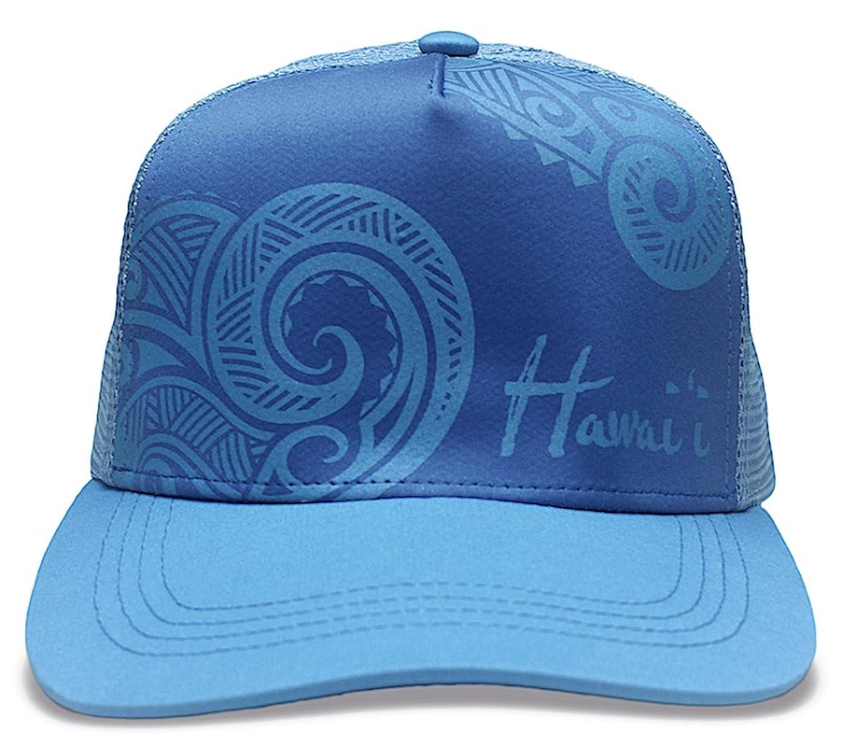 Tribal Hawaii Island Caps Hawaiian Inspired Flat brimmed Hats