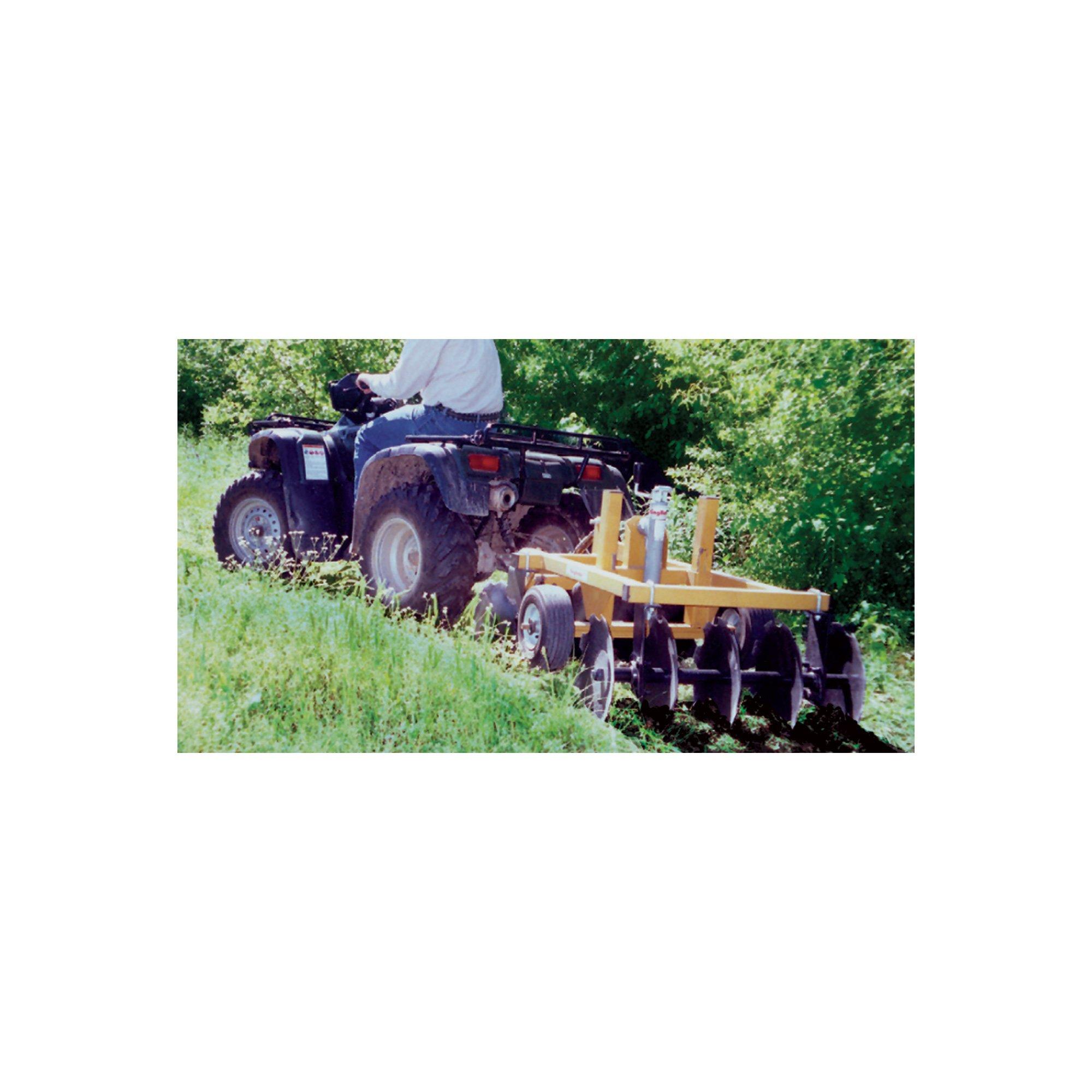King Kutter Tow-Behind Garden Tractor/ATV Compact Disc - 33in. Working Width, Model# 14-10-CD-YK