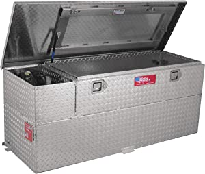 RDS Fuel Transfer/Auxiliary Tank/Toolbox Combo with 8 Gpm Pump - 60-Gal. Capacity