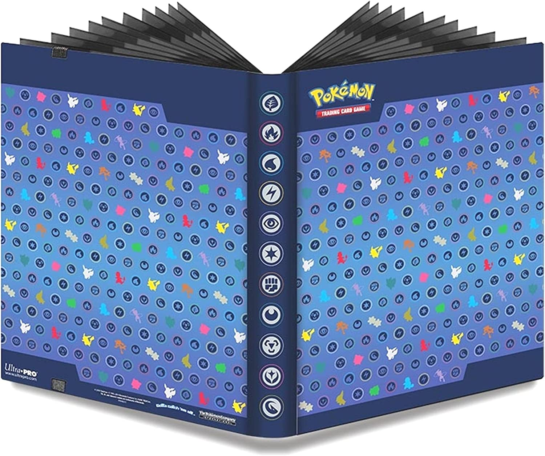 360 Card Pro Album Binder Holder Protector For Pokemon 9 Pocket Sheets Collect