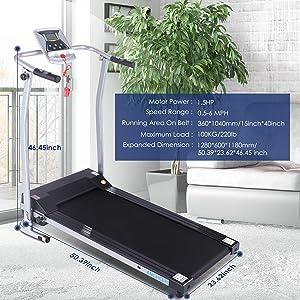 ANCHEER Treadmill, Treadmills for Home