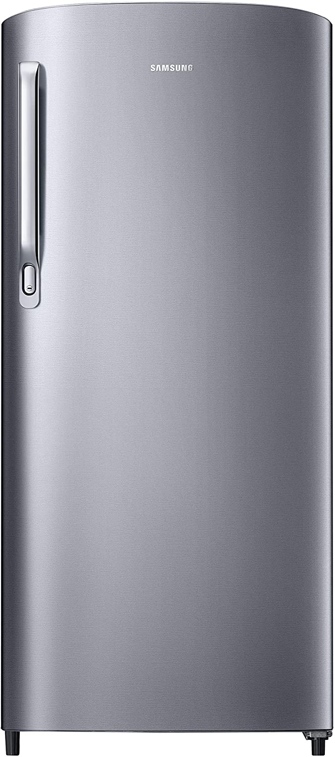 Samsung 192 L 2 Star Direct-Cool Single-door Refrigerator (RR19R2412SE/NL, Elective Silver)