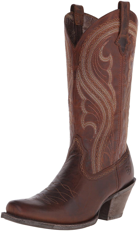 Ariat Women's Lively Western Cowboy Boot B00U9XY90A 9.5 B(M) US|Sassy Brown