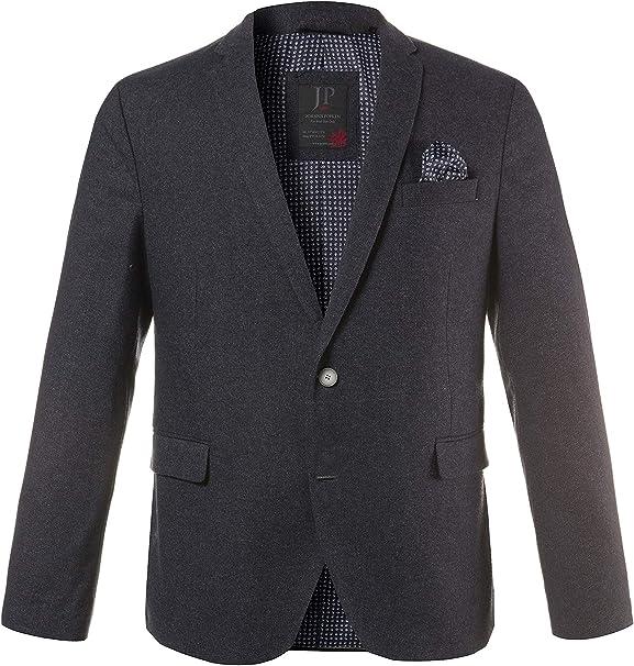 JP 1880 Mens Big /& Tall Contrast Lined Wool Blazer 711396
