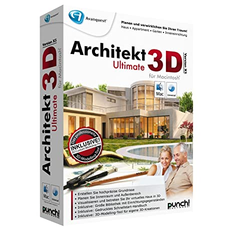 Ideen fur wohnzimmer 3d renderings  Architekt 3D X5 Ultimate für Mac (MAC): Amazon.de: Software