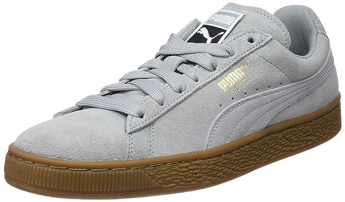 Puma Suede Classic Sneaker Damen Herren Unisex Grau