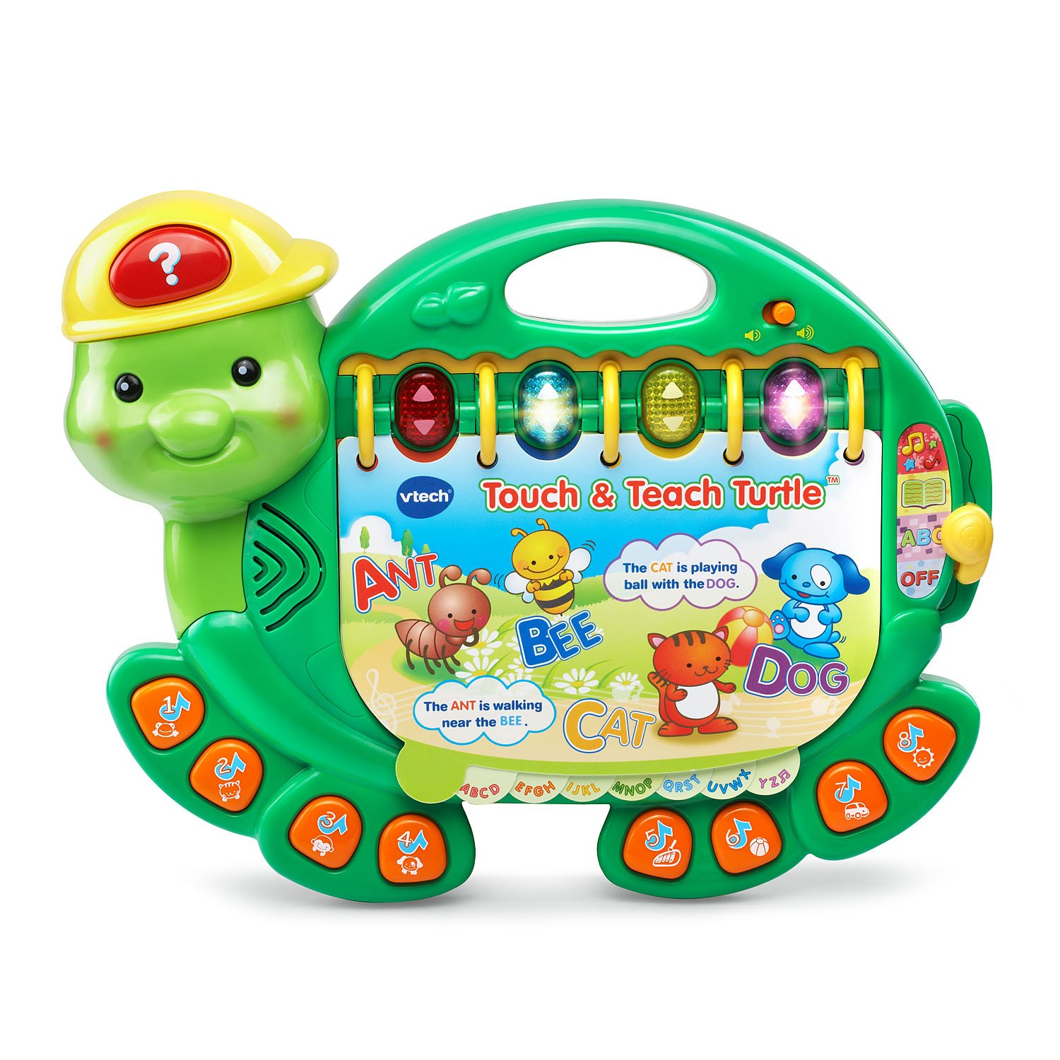 Amazon VTech Touch and Teach Turtle Book Toys & Games