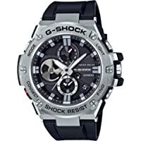 "Casio Men 's""G-shock resina de cuarzo reloj de vestir, color: negro (modelo: gst-b100–1ACR)"