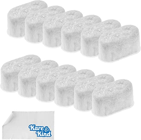 12Pcs Charcoal Water Filter  Filters For Cuisinart Coffee Makers New