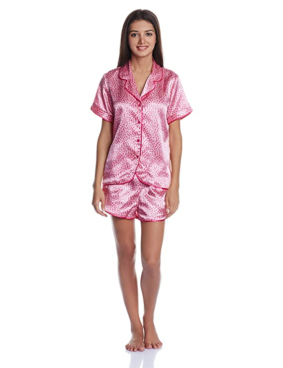 Bwitch Women's Ritzy Nightdresses & Neligees Women's Pyjama Sets at amazon