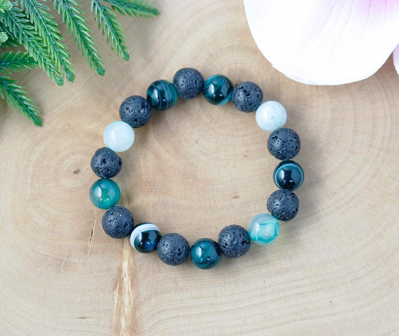 Aromatherapy Jewelry Kids 4 Colours to Choose From Lava Bead Bracelet Essential Oil Bracelet Kids