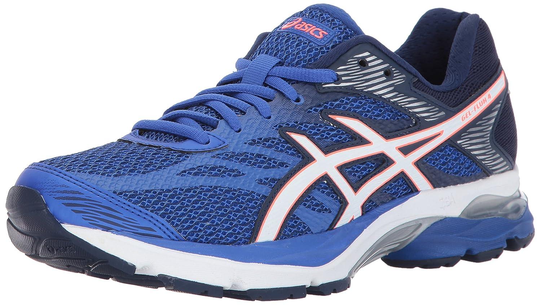 ASICS Women's Gel-Flux 4 Running Shoe B01N06ZUS6 5.5 B(M) US Blue Purple/White/Indigo Blue
