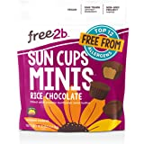 Free2b Foods Rice Chocolate Sun Cups Minis Gluten-Free, Dairy-Free, Nut-Free and Soy-Free - 4.2 Oz. (Pack of 6)