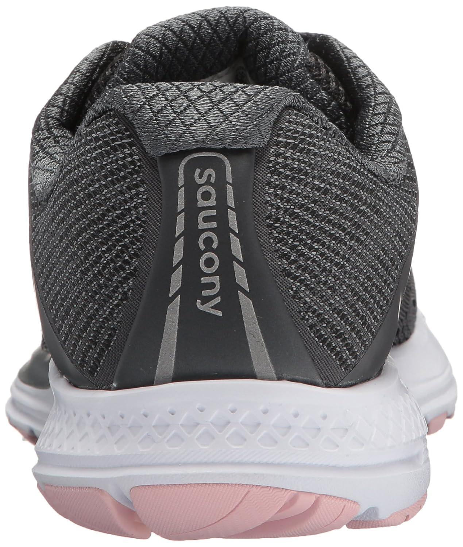 Saucony Women's Ride 10 Running US|Gunmetal/Pink Shoe B072JWJSHH 10 B(M) US|Gunmetal/Pink Running 4938e1