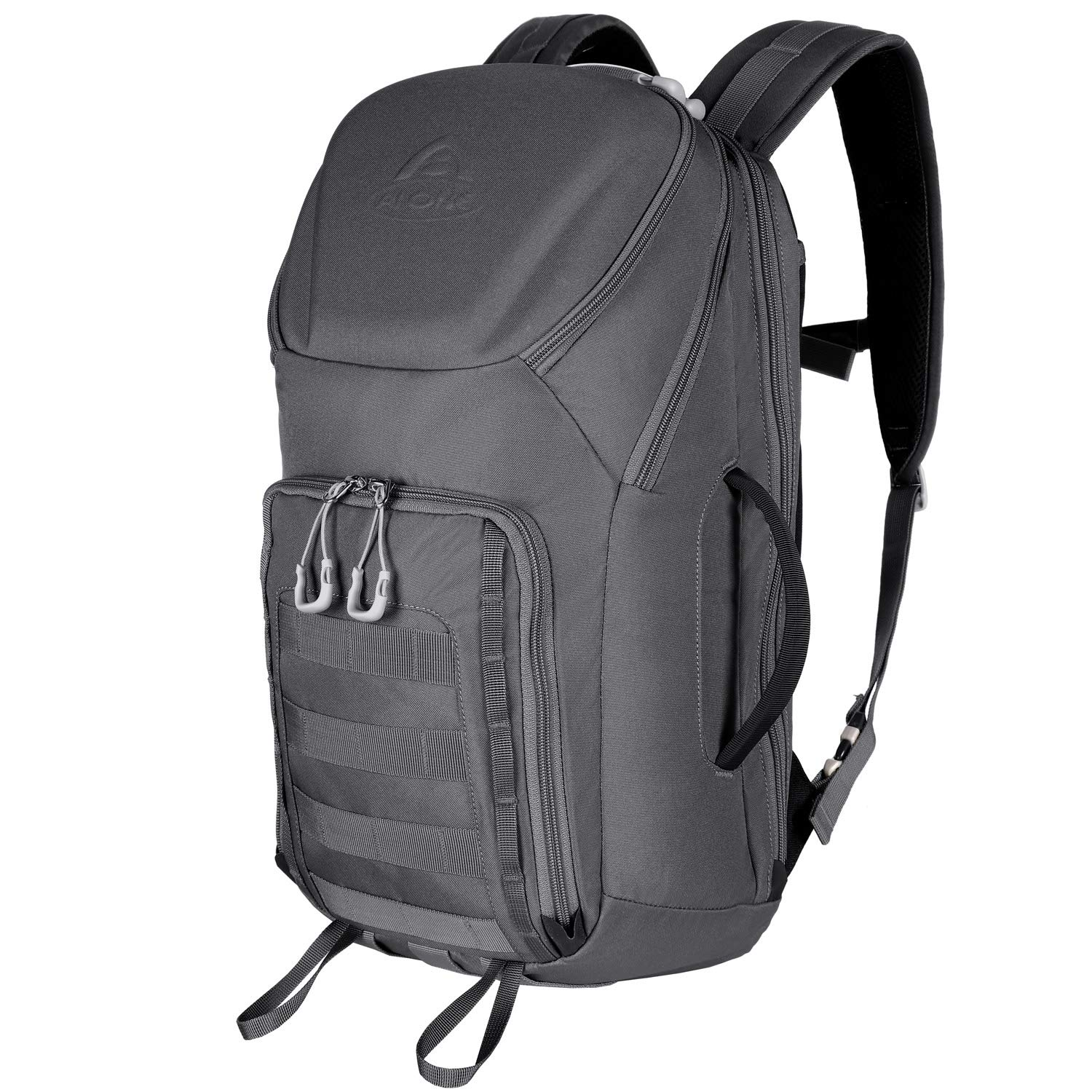 Aione Tactical Backpack Military Army Backpack Daypack 25L/30L/32L/56L Assault Pack Bug Out Bag with Hard Shell Top Pocket