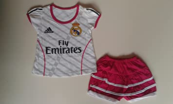 more photos 7c504 9dba5 Real Madrid Jersey for Baby Girls 3 - 12 months