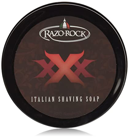 RazoRock XXX Artisan Shaving Soap, 125 ML (4.2 Oz) by RazoRock